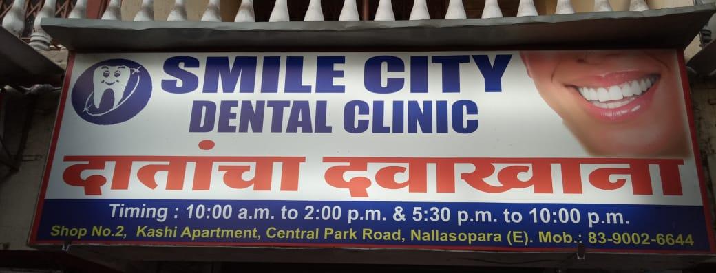 Smile City Dental Clinic in Nalasopara, Mumbai - Book Doctor